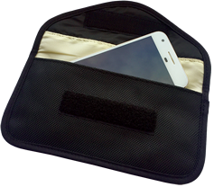 Large Mobile Phone & Key Fob Signal Blocking Bag