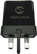 UK 3 Pin Blackphone Adapter