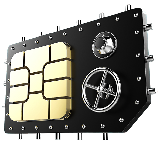 Black Data SIM Card