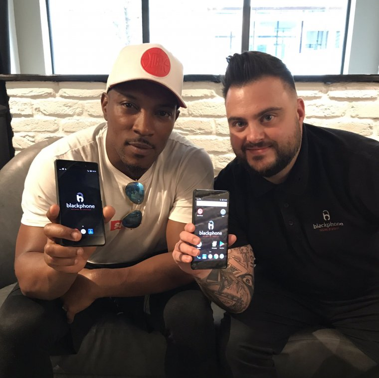 Ashley Walters and Blackphone