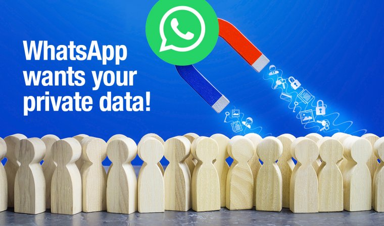 Whatsapp steals data delete Whatsapp